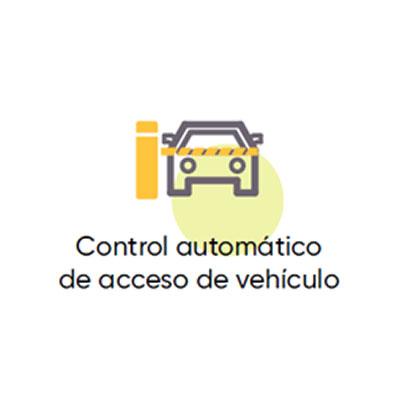 Control automatizado Vehicular