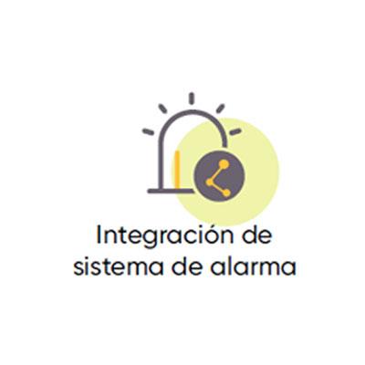 Interconexion con sistema de alarma